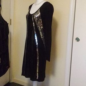 🖤💎Lapis Brand Sexy Black Sequined Dress Size L